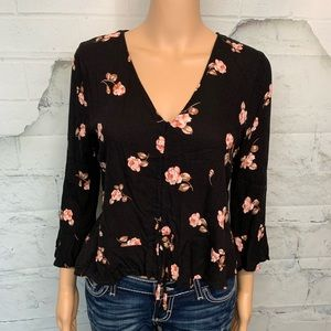 Heart & Hips Floral Top